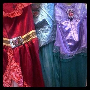 3 princess dresses